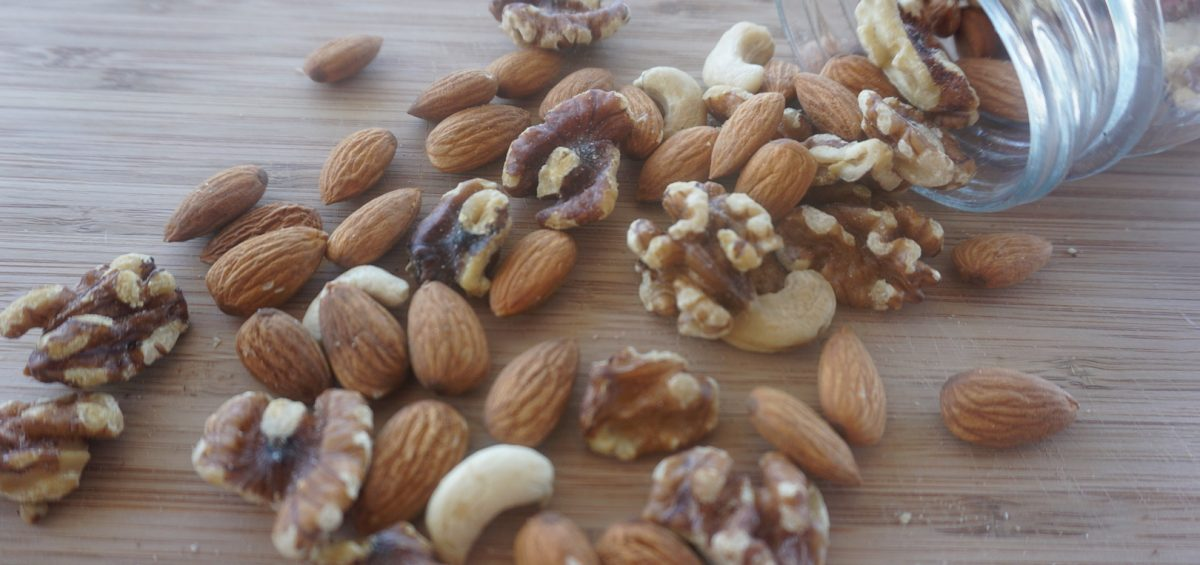 Activating nuts and seeds walnuts and almonds