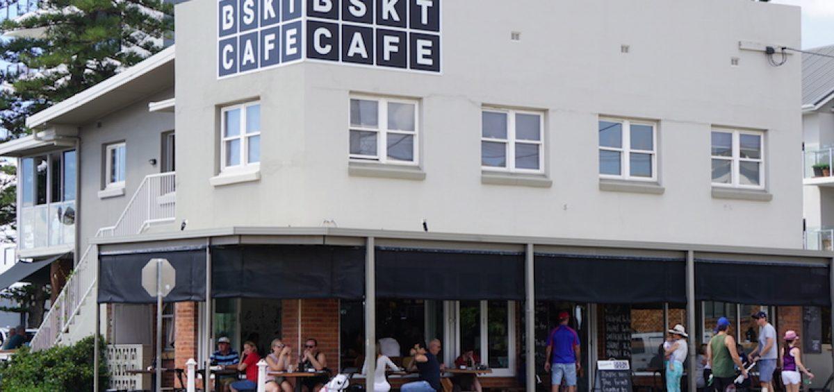 BSKT healthy gold coast cafe exterior