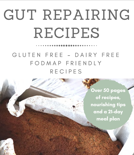 Gut repairing recipe ebook