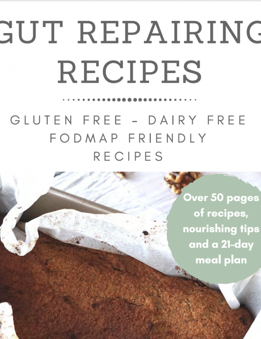 Gut repairing recipe ebook
